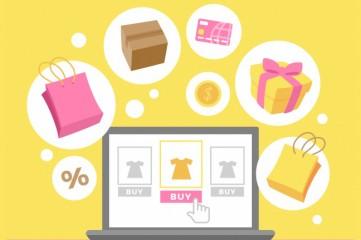 background-e-commerce-elements-flat-design_23-2147669145