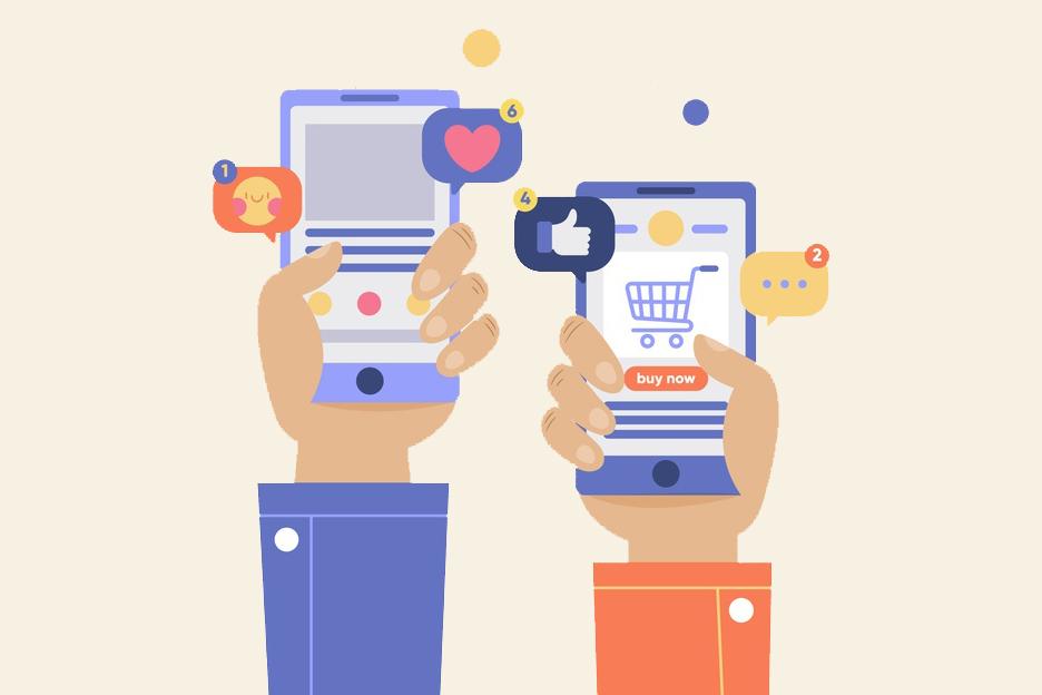 online-shopping-social-media-concept_23-2148439901